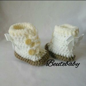 Other - 3-6 Month crochet baby boots